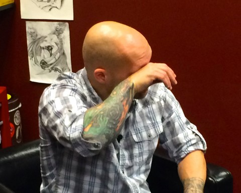 After prison, Mike Hansen struggles to overcome PTSD