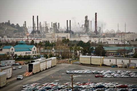 oil refinery north richmond