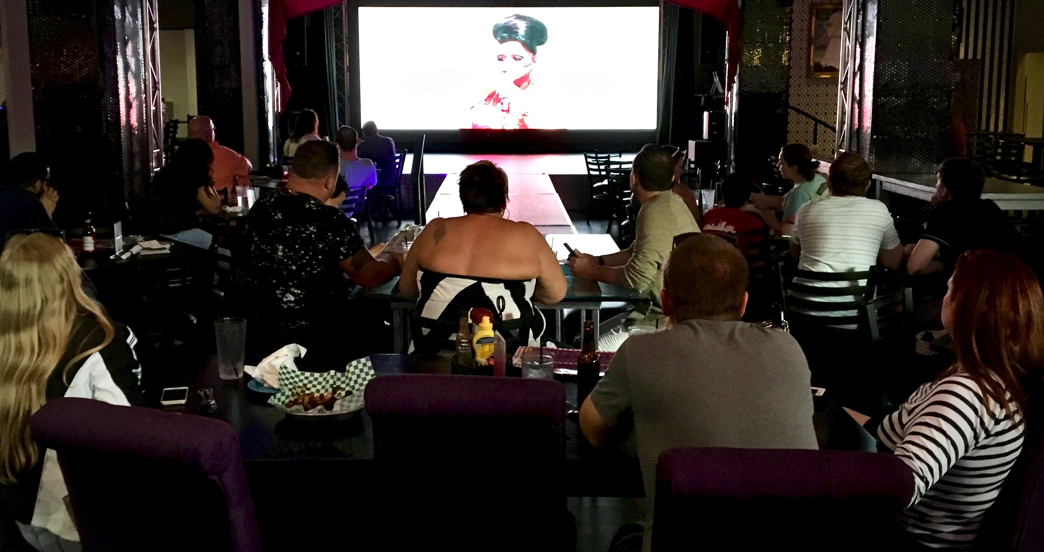 Screening The Queens